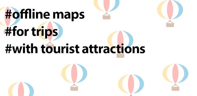 قم بتنزيل الخرائط دون اتصال للمسافرين - Aerostat Maps Full 1.37 - تطبيق التوجيه دون اتصال لنظام الاندرويد
