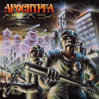 """Ο δίσκος των Apocrypha """"Area 54"""""""