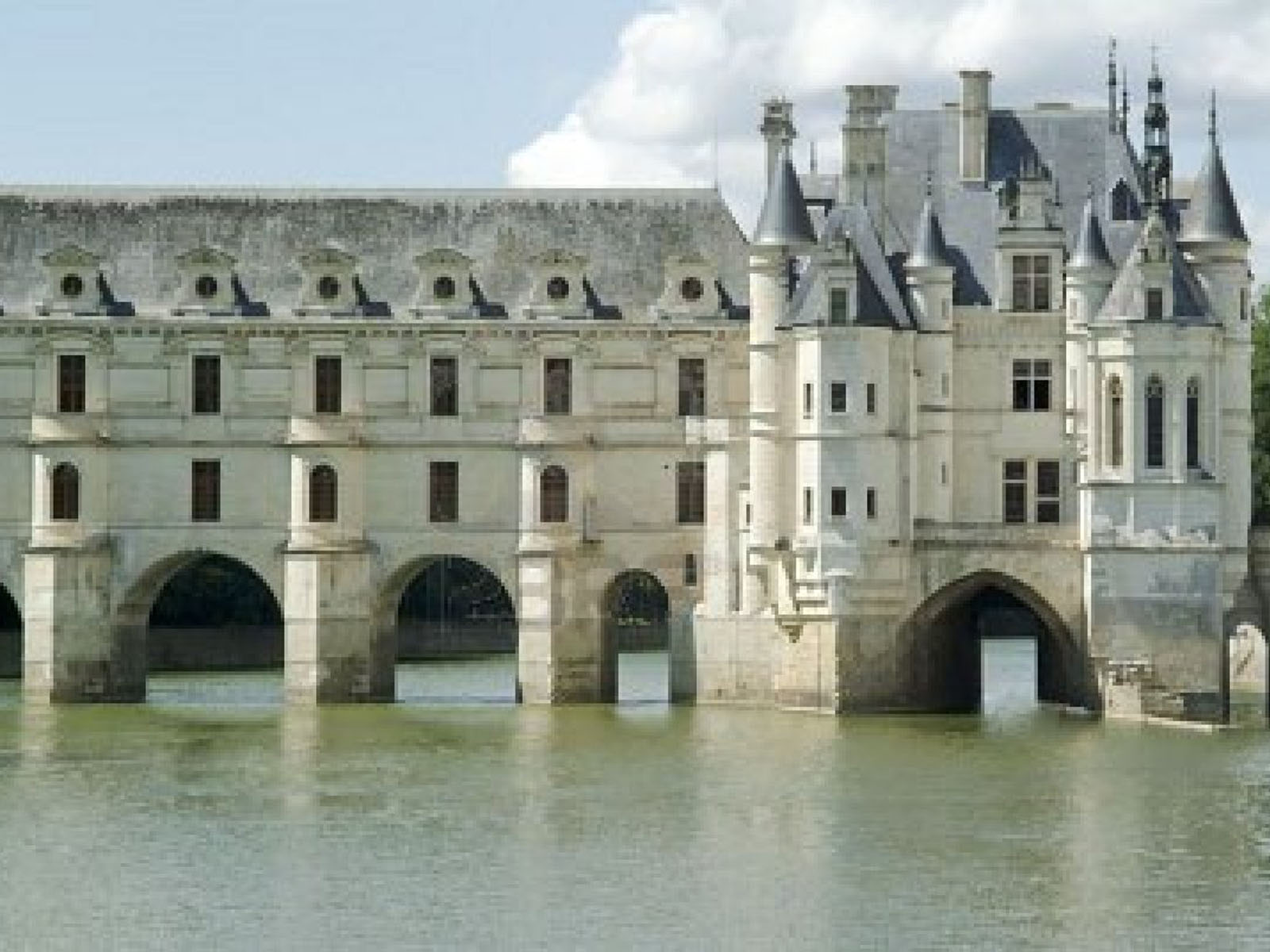 3d Moving Wallpapers City Lights Wallpapers Chenonceau Central France