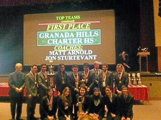 7a8603e5a Granada Hills Charter High School wins 2015 national academic decathlon!