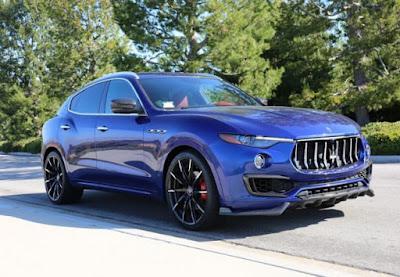 Maserati Will Pin The V8 Engine Turbo Ferrari To Levante SUV