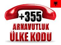 +355 Arnavutluk ülke telefon kodu