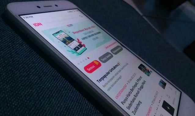 Aplikasi IDN App, Kemudahan Memperoleh Informasi  Cepat dan Akurat