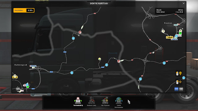 ets 2 google maps navigation v1.7 screenshots 5