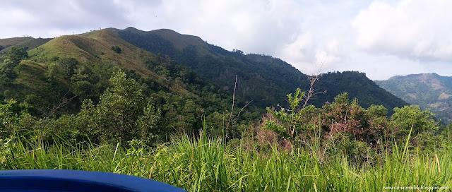 pemandangan minonggui hill kinasaraban trail