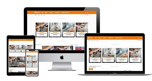 Foodify Premium - Responsive Blogger Template