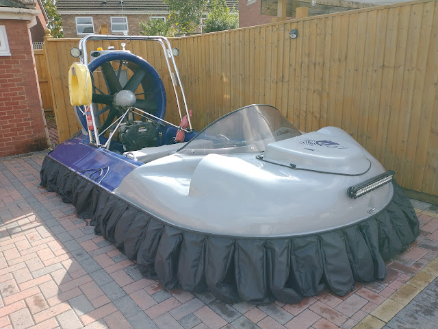 Hovercraft on the front drive