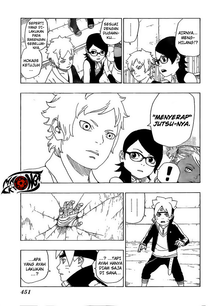 Boruto Chapter 16-32