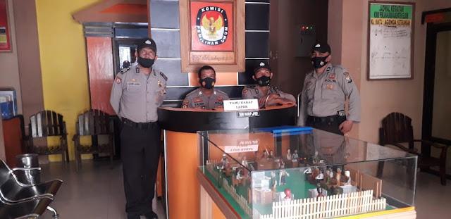 Cegah Gangguan Jelang Pilkada, Personil Polres Kep. Selayar Rutin Patroli di Obyek Vital