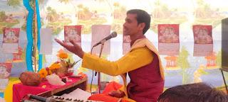 राम कथा को सुनने के लिए उमड़ा जनसैलाब