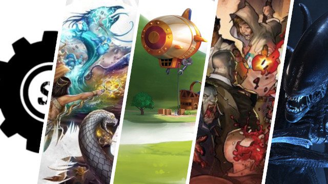 Board Game News Asmodee Fiction Imprint, End of Plaid Hat, Aliens RPG, Steamforged Investment, Charterstone Zombicide Video