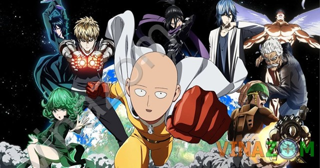 One Punch Man anime hay