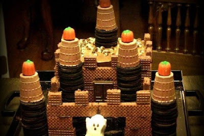how-to-make-halloween-ghost-castle-cake