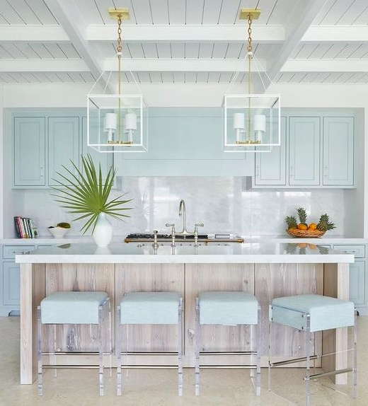 Blue Kitchen Design Ideas For Coastal Living Coastal Decor Ideas Interior Design Diy Shopping