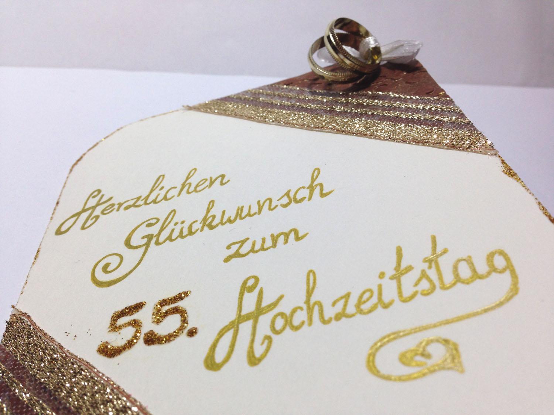 Silas Bestelstube: 55. Hochzeitstag und Silberhochzeit