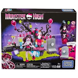 MH Birthday Party Set Draculaura Mega Blocks Figure
