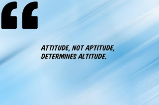 Good attitude quotes for dp