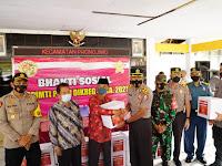 Gelar Vaksinasi dan Sembako dari Peserta Didik Sespimti ke- 30 Polri Warnai Ramadhan di 8 Provinsi dan 10 Kota/Kabupaten