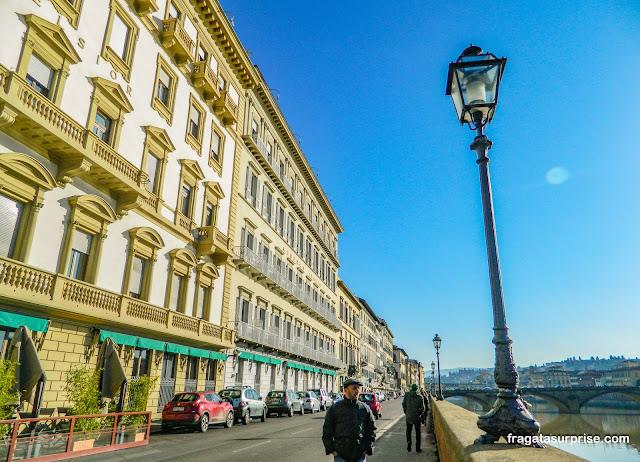 Florença, margens do Rio Arno