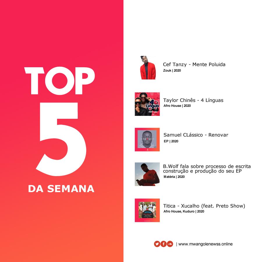 TOP 5+ da semana | 12 à 17 de Outubro