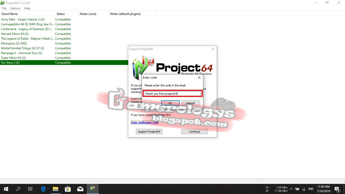 Cara Setting Emulator Project64 Agar Grafiknya Bening dan