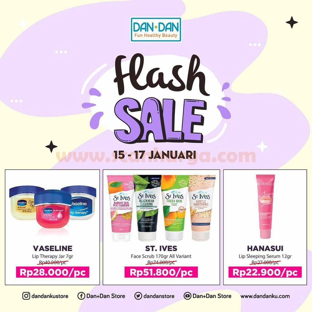 Promo DAN+DAN Weekend Flash Sale Terbaru 15-17 Januari 2021