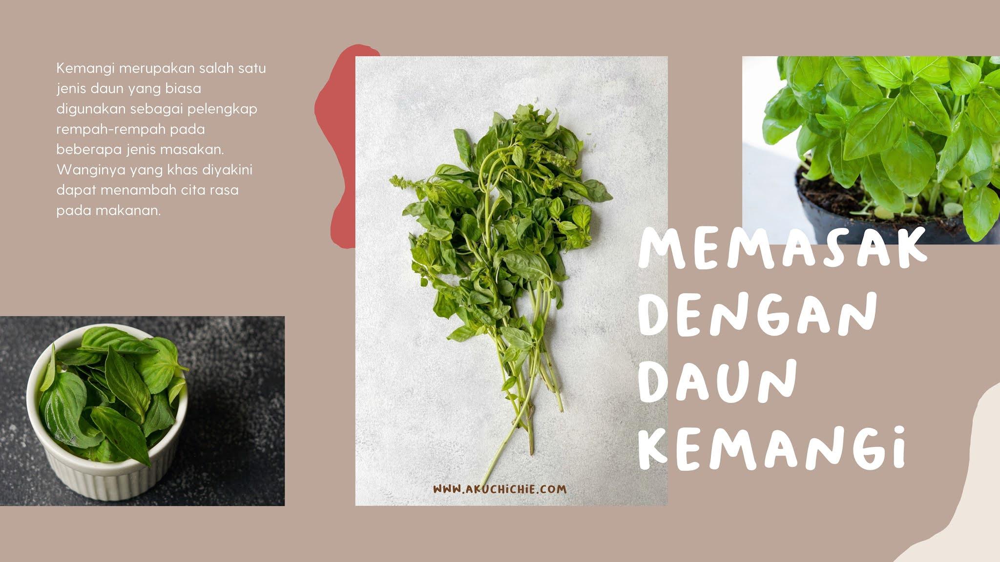 daun kemangi untuk masak