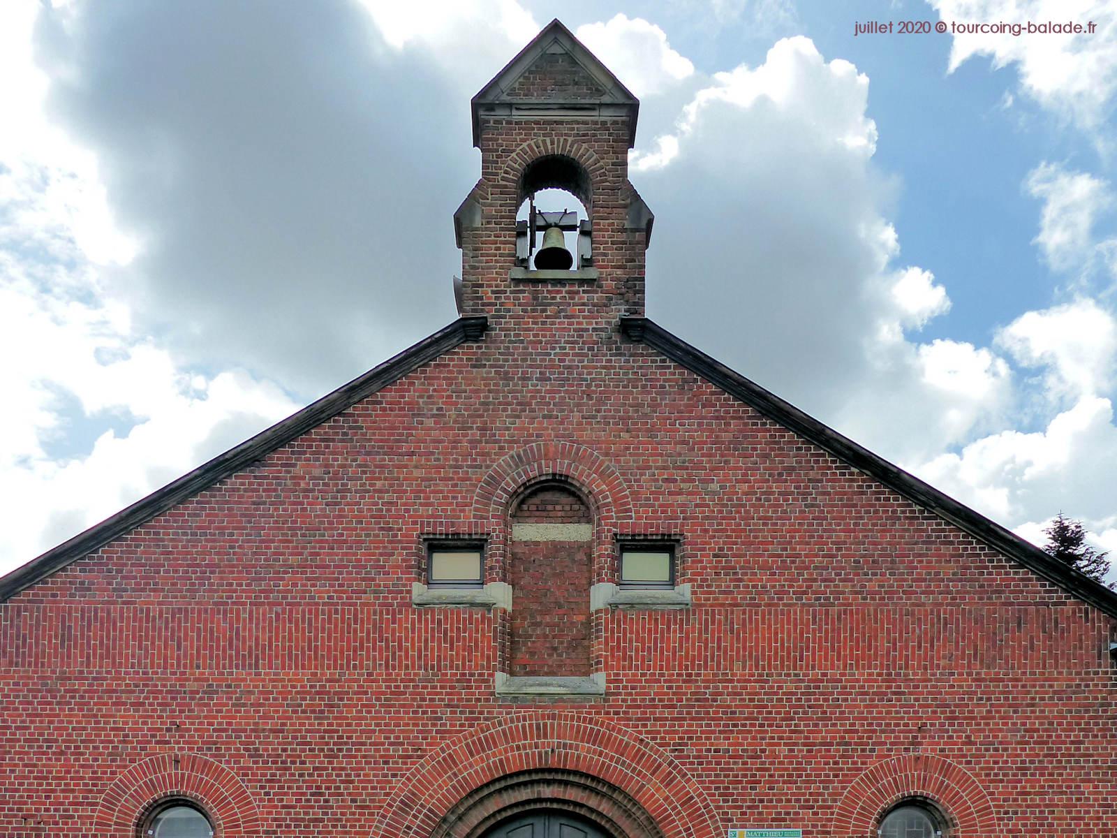 Clocher de l'Église Saint Blaise, Tourcoing 2020