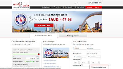 Best site to transfer money to India from Australia