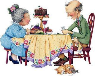 Resultado de imagen para Gifs de pareja de ancianos-