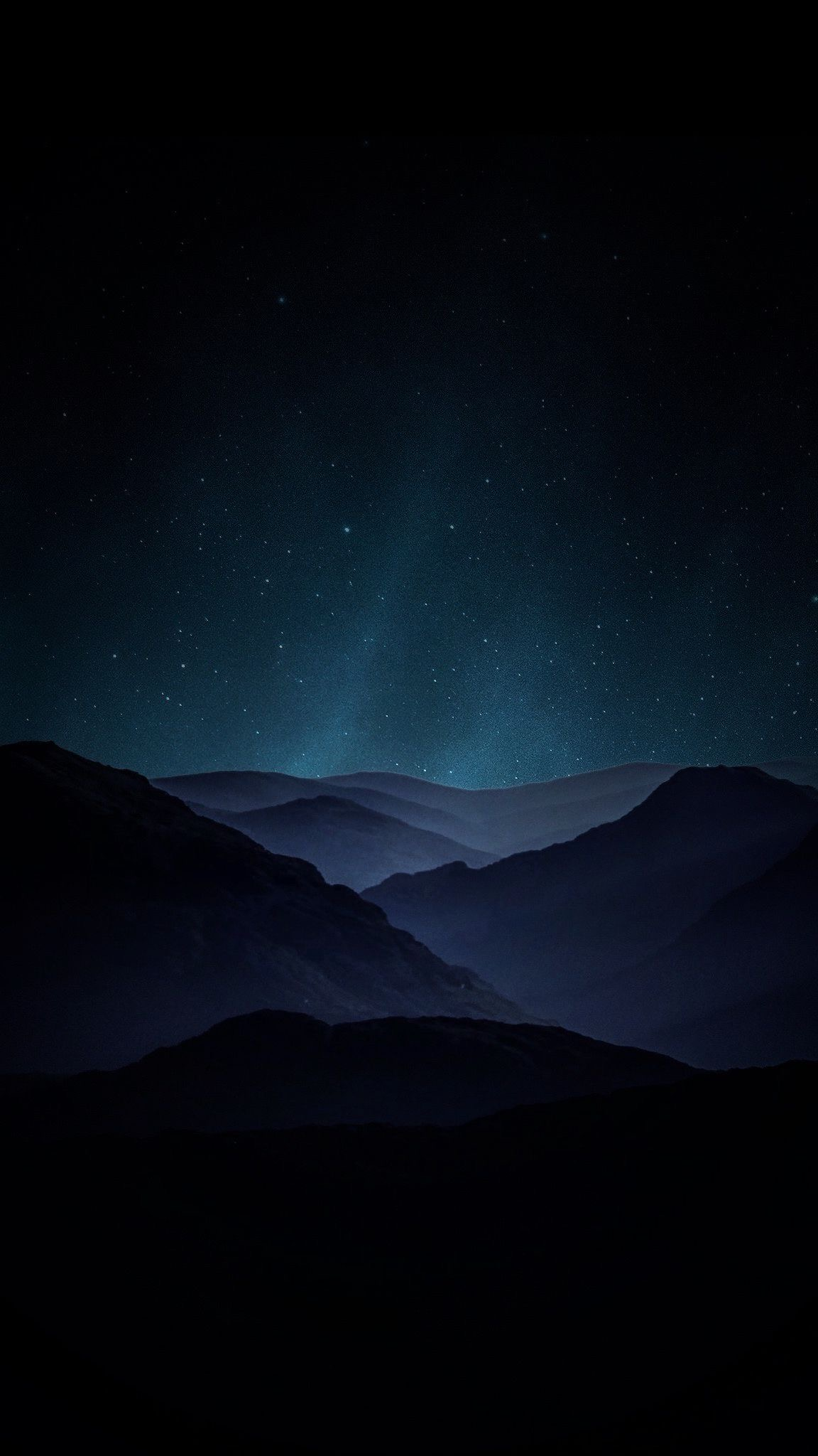 MOUNTAIN NIGHT MOUNTAINS LANDSCAPE STARS SKY