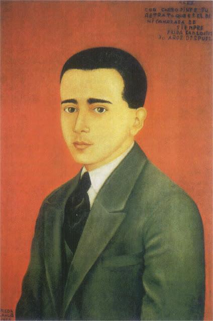 Фрида Кало - Портрет Алехандро Гомес Ариас. 1928