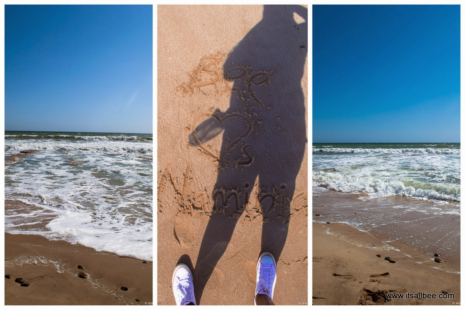 swakopmund beach namibia
