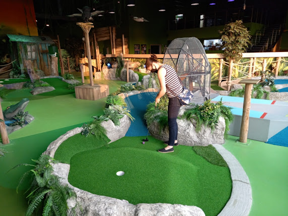 Gator Adventure Golf at Escape Entertainment in Chorley