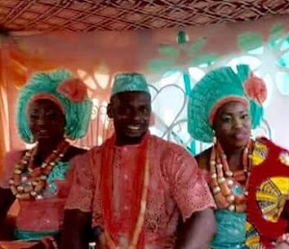 Man Weds 2 Wives In A Single Ceremony Same Day In Delta ...See Photos