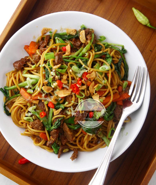 Resep Mi Goreng Sapi Just Try Taste