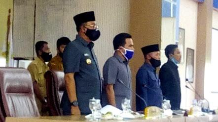 Bupati H.Suyatno Hadiri Sidang Rapat Paripurna & Menyampaikan Raperda Pertanggungjawaban APBD 2019
