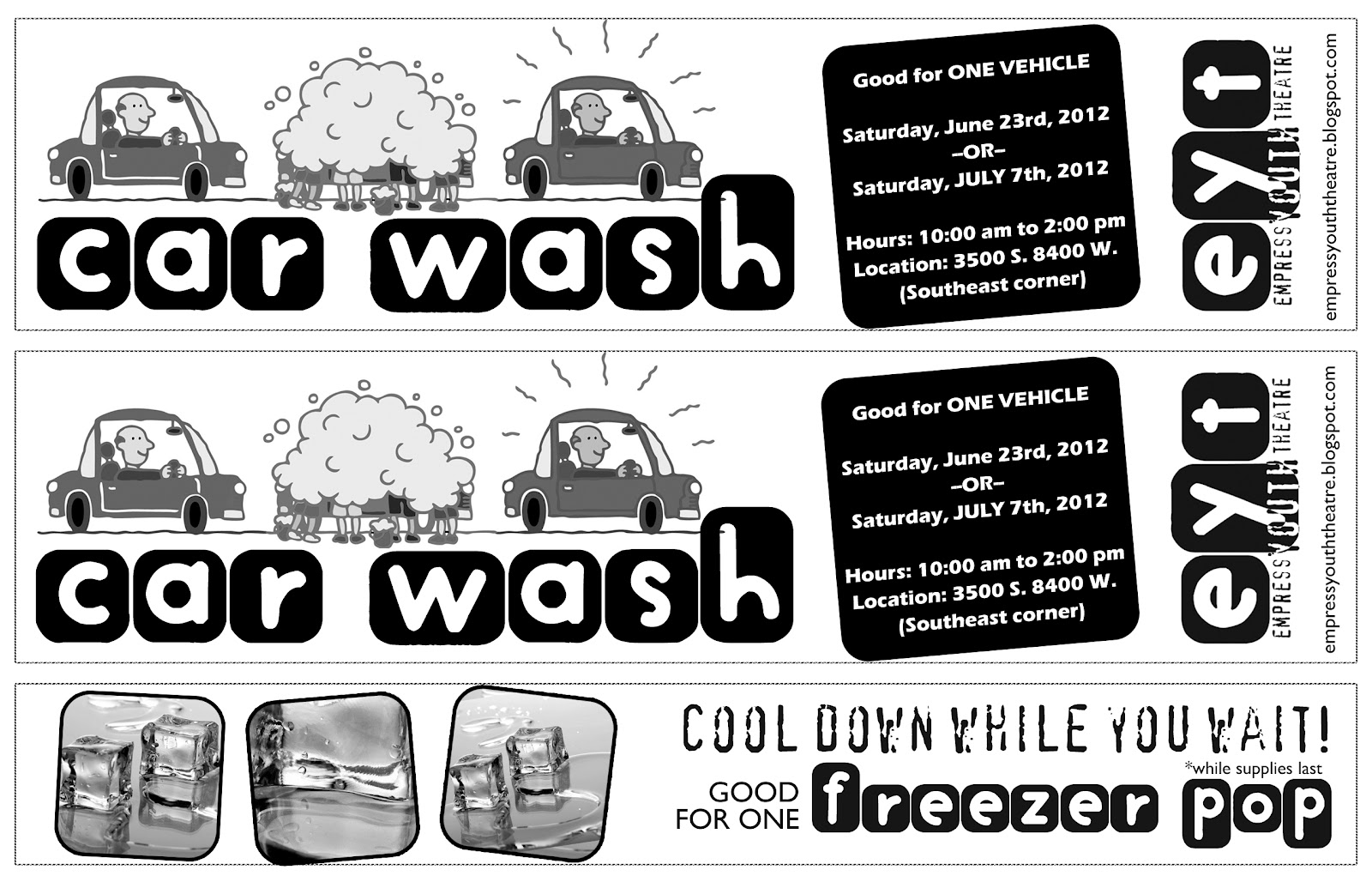 car wash tickets templates free partthepiratebay blog