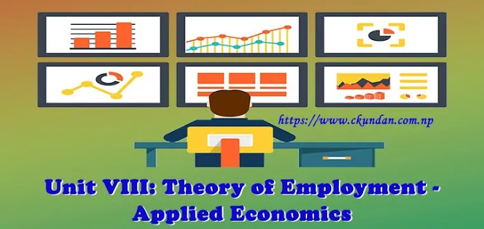 Unit VIII: Theory of Employment - Applied Economics