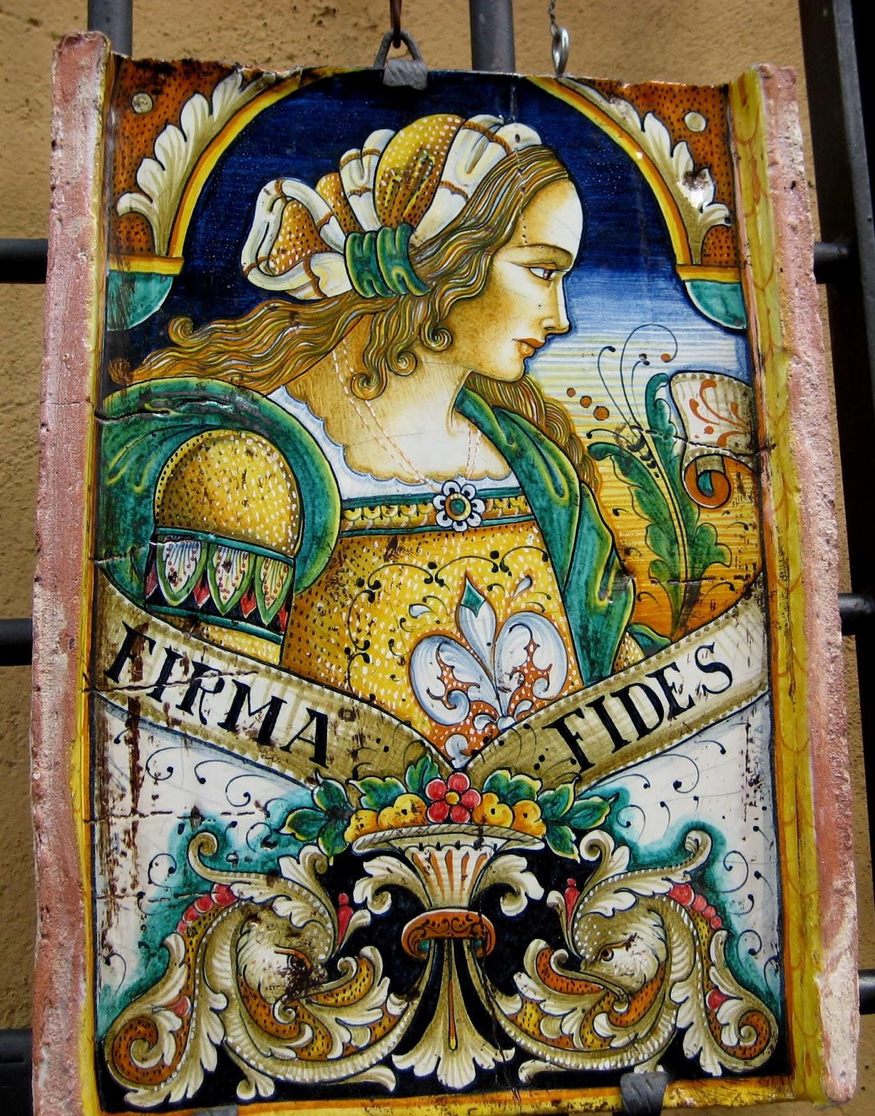 Loveisspeed Maiolica Is Italian Tin Glazed Pottery