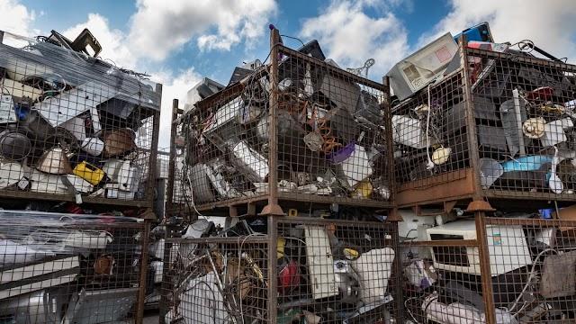 MEDIO AMBIENTE. ¿Qué sucede con los desechos electrónicos cuando se reciclan?