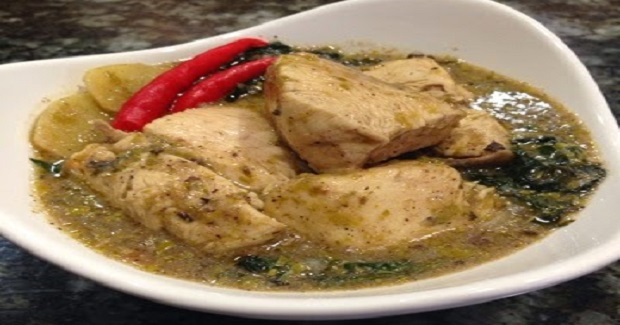 Sinampalukang Manok/ Chicken In Young Tamarind Leaves Soup Recipe