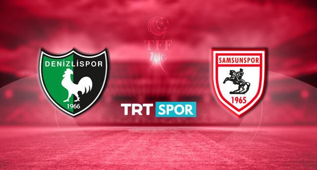 Denizlispor - Samsunspor Maçı canlı izle,Denizlispor - Samsunspor şifresiz izle