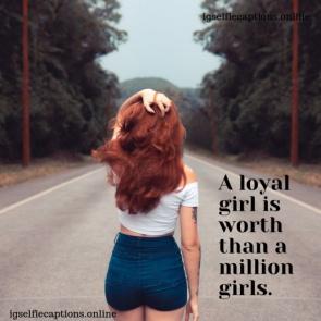 Girls Captions For Instagram
