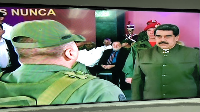 «Resurgimos como el ave fénix»: encerrados en un galpón Maduro celebró el 82 aniversario de la GN