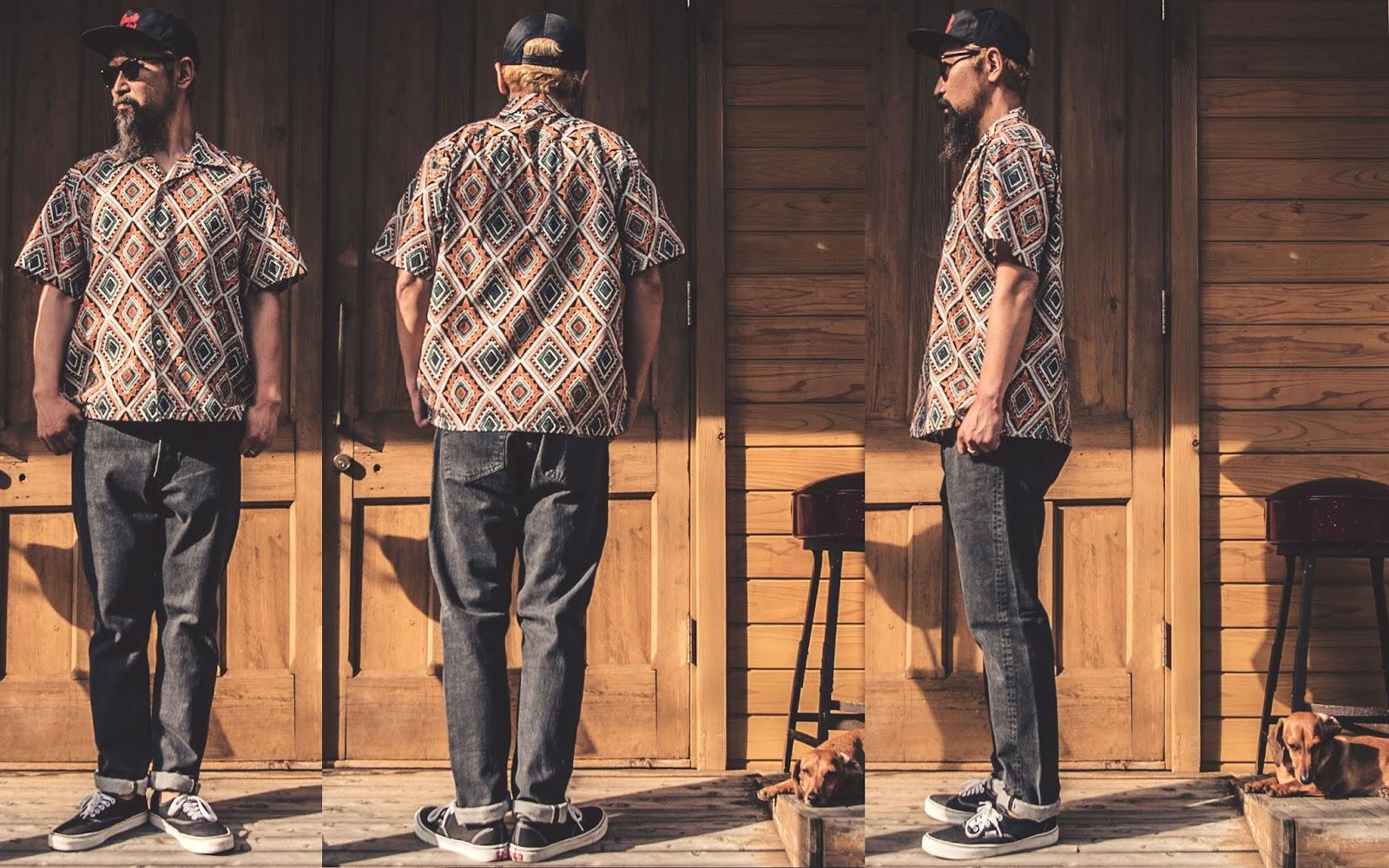 スターオブハリウッド ボーリングシャツ アロハシャツ オープンカラーシャツ スター オブ ハリウッド フィフティーズシャツ