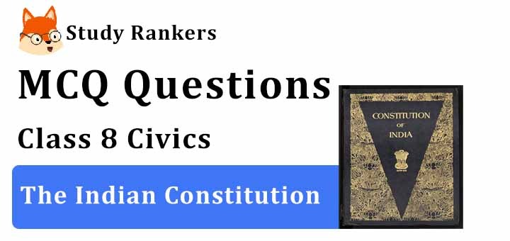 MCQ Questions for Class 8 Civics: Ch 1 The Indian Constitution
