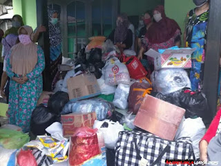UMKM Rangkul Salurkan Bantuan Bencana Banjir di Wonosari Ngaliyan