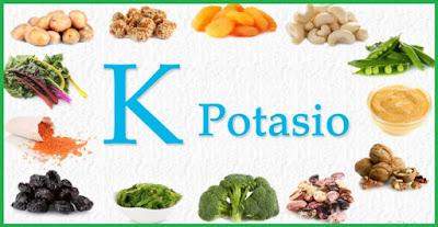 alimentos con potasio para la presion alta